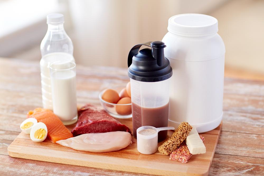 Ernährungsplan Muskelaufbau Protein