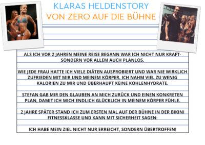 Klaras Heldenstory (Klicken zum Vergrößern!)