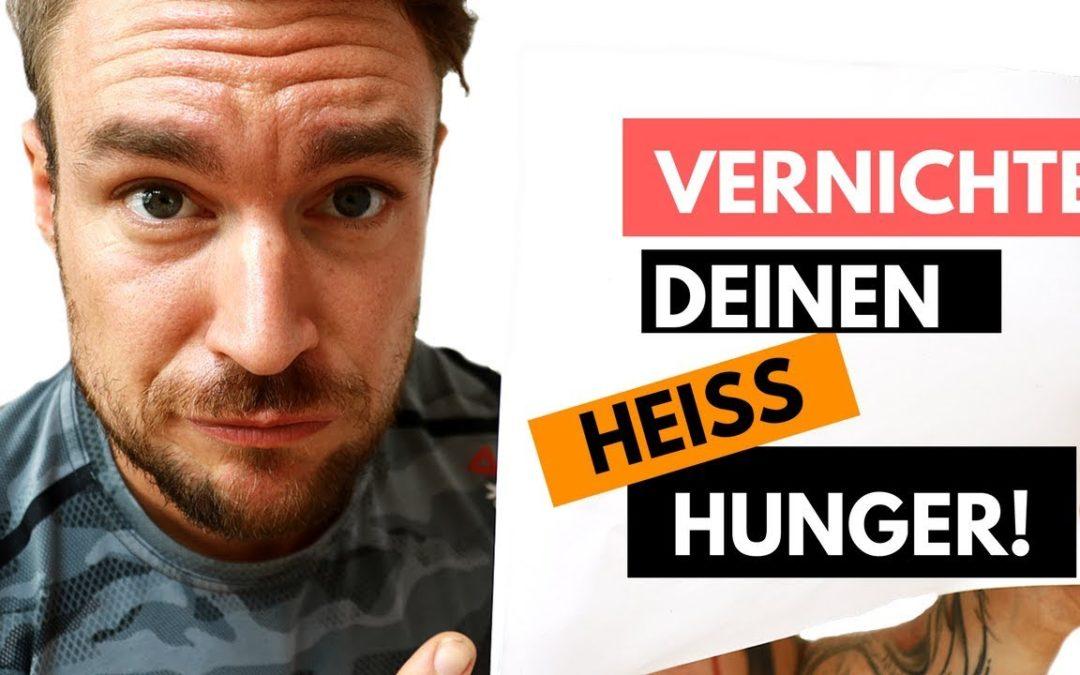 Hunger und Heißhunger stoppen – Das hilft dir WIRKLICH!