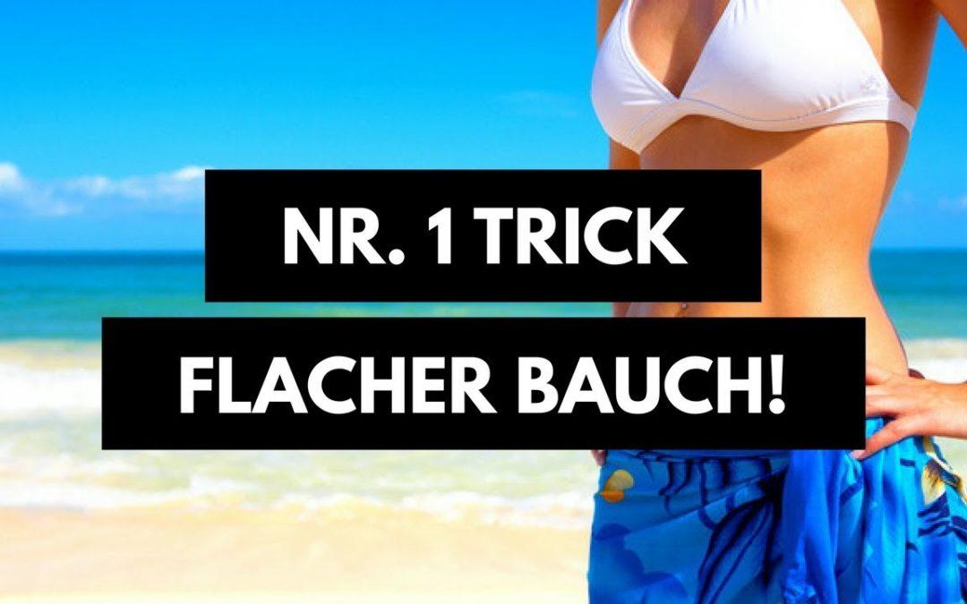 Flacher Bauch ohne Sport und Diäten